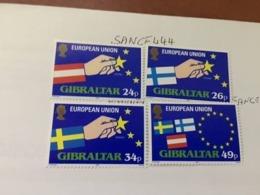 Gibraltar European Union 1995 Mnh - Gibraltar