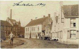 LENDELEDE - 1917 - Duitse Fotokaart - Carte Photo - De Plaats - Duitse Soldaten - Lendelede