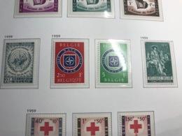 BELGIUM MNH** COB 1090/92, 1089, 1094/95 & 1093 - Belgium