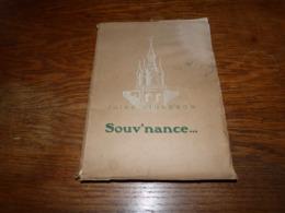 Recueil En Wallon Poésies De Jules Vigneron Souv'nance 1941 Illust. Ben Genaux - Courcelles - Livres, BD, Revues