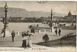 Genève Quai De Mont Blanc  1400 - GE Geneva