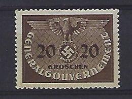 Polen   General Gouvernement  Y/T   D 5   (O) - 1939-44: 2. WK