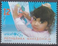 Makedonija 2006 UNICEF Journée De L'enfant Neuf ** - Macédoine