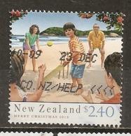 Nouvelle Zelande New Zealand 2013 Noel Christmas Obl - Usados