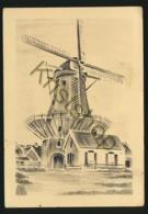 Briefkaart - Molen (pentekening) [AA25 1.732 - Pays-Bas