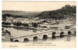 SAINT-MIHIEL - Pont Sur La Meuse, Le Cercle, Faubourg De Verdun - Saint Mihiel