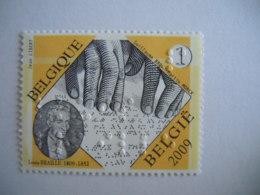 België Belgique 2008 Louis Braille Brailleschrift L'écriture Braille Cob 3879 MNH ** - Belgium