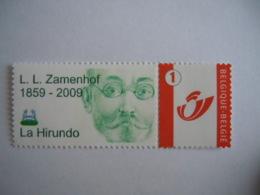 België Belgique 2007 Gepersonaliseerde Reeks Séries Personnalisées Zamenhof Esperanto Cob 3700 MNH ** - België