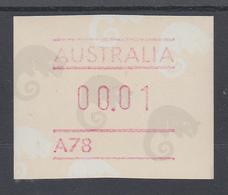 Australien Frama-ATM Ringelschwanz-Opossum, Mit Automatennummer A78 ** - Vignette Di Affrancatura (ATM/Frama)