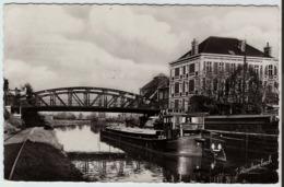 59 - HAUBOURDIN - LE GRAND PONT SUR LE CANAL - PÉNICHE - Éditions Rinckenbach - Péniches