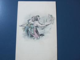 Carte Postale Illustrateur Baigneuses - Künstlerkarten