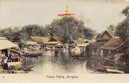 Thailand - BANGKOK - Pukao Thong - REAL PHOTO Colored 2. - Thaïlande