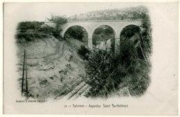 83 - B15982CPA - SALERNES - Aqueduc Saint Barthelemy, Voie Ferree - Parfait état - VAR - Salernes