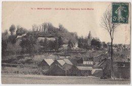 80 - B16865CPA - MONTDIDIER - Vue Prise Du Faubourg Saint Martin - Assez Bon état - SOMME - Montdidier