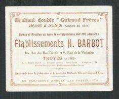 Petit Dépliant De 3 Pages Sur Les Charrues Brabant Double Guiraud Frères à Alais ( Gard)) - Publicités