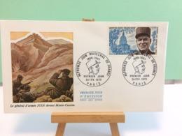 Alphonse Juin Maréchal De France - Paris - 28.2.1970 FDC 1er Jour Coté 2,50€ - FDC
