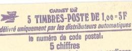 CARNET SABINE ROUGE  1972 C1 - Carnets