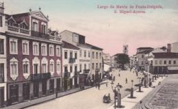 PORTUGAL; Largo Da Matriz De Ponta-Delgada S. Miguel-Azores , 00-10s - Açores