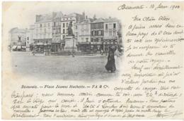 BEAUVAIS 60 OISE  PLACE JEANNE HACHETTE  FA & Cie DOS NON DIVISE - Beauvais