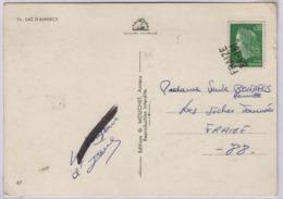 FRAIZE (Vosges) Griffe Linéaire, Annulation Du Timbre à L'arrivée - Marcophilie (Lettres)