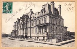 CPA Maisons-Laffitte, Le Chateau, Gel. 1907 - Maisons-Laffitte