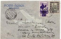 3848 01 LIBIA CIRENAICA TIMBRO GIOVANNI BERTA Villaggio Agricolo Berta - Cirenaica