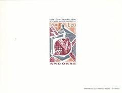 Andorra Francesa Nº 242 En Prueba - Unused Stamps