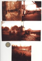 Lot De 5 Photos Présentation Du Char FT - Circa 1917 - Tirages 10 X 10 Cm Actuels De Plaques Verre D'époque - Guerre, Militaire
