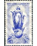 Ref. 168647 * MNH * - BRAZIL. 1954. CONMEMORACION DEL AÑO DE LA VIRGEN - Brasilien