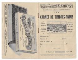 """Carnet De Timbres-prime """"DEBRAY""""  CLICHY  ETAT Tttb  QQS TIMBRES  VOIR SCANS - Alte Papiere"""