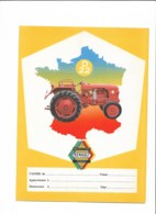 TRACTEURS RENAULT: Lot 4 Protèges Cahier + 3 Buvards  TTTTTB état  Voir Scans - Agriculture