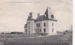 Cpa 8 SAINT LEGER MAGNAZEIX LE CHATEAU 1926 - France