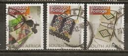 Afrique Du Sud South Africa 201- Weaved Cloth Obl - Used Stamps