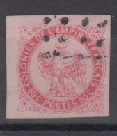 #138# COLONIES GENERALES N° 6 Oblitéré (faux à L'aigrette) SUPERBE - Aigle Impérial