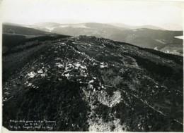 France Alsace Vestiges Guerre 14-18 Au Bonhomme Ancienne Photo Aérienne 1933 - Lugares