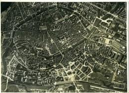 France Alsace Armée Panorama Strasbourg Ancienne Photo Aérienne 1930 - Places