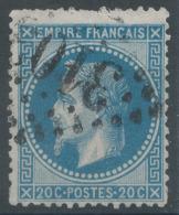 Lot N°51153  Variété/n°29B, Oblit GC 3103 Reims, Marne (49), Filet NORD - 1863-1870 Napoleon III With Laurels