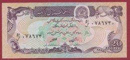 Afghanistan 20 Afghanis 1979 UNC (95) - Afghanistan
