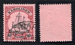 Allemagne, Colonie Allemande, Carolines, Karolinen, N°15 Oblitérés, Qualité TB - Colonie: Carolines