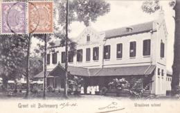 1807/ Nederlandsch Indie, Groet Uit Buitenzorg, Ursulinen School - Indonésie