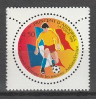 ANDORRA, FRENCH - 1999 - ( 1999 European National Soccer Championships ) - MNH (**) - French Andorra