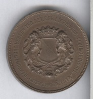 Médaille Pays-Bas 1er Prix D' Ornithophilie - Utrechtsche Verren. Ter Bev. Der Liefh. Voor Pluimgedierte - Professionals/Firms