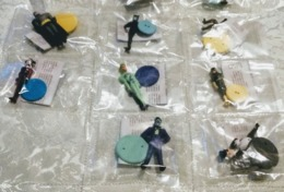 Batman Set Completo 8 Figure, Miniature.lotto N 2 - Batman