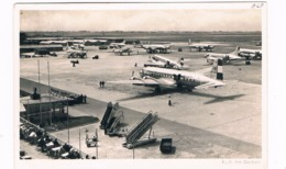 VV-461   AMSTERDAM : Schiphol Airport ( With Perfin Stamp) - Aerodrome
