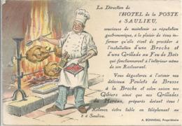 CPM Saulieu Hôtel De La Poste - Saulieu