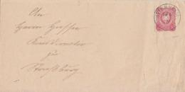 DR Brief EF Minr.33 K1 Jttenheim 19.5.76 Gel. Nach Strassburg - Duitsland