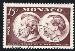 Monaco N°352 Oblitéré, Qualité Très Beau - Monaco