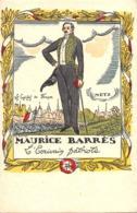 Illustrateur Guy ARNOUX - MAURICE BARRES - L' écrivain Patriote - Les églises De France METZ- Visé N°55 - Illustratori & Fotografie