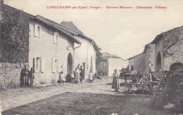 Longchamp ,épicerie,mercerie,charcuterie Villemin - France