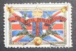 Great Britain 1916 Military Vignette The Royal Dublin Fusiliers - Cinderella